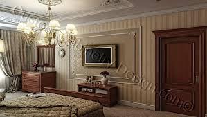 Traditional Style Bedroom - bedroom decorating ideas 3d digital interior design online concept