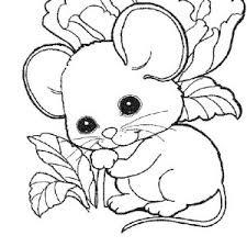cute mouse rat baby coloring pages bulk color