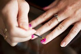 how to do your own gel nail manicure at home nails and polish