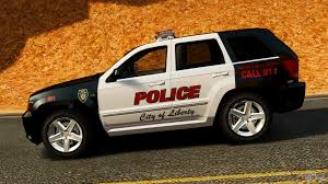 jeep grand cherokee srt8 2008 police els for gta 4