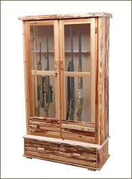Built In Gun Cabinet Plans My Husbands New Gun Cabinet He Did Great Job Cabinets In Wall Safe