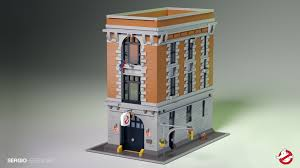 lego ghostbusters hq with lights free instructions