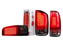 Led Tail Light Bulbs For Trucks by Aftermarket Led And Euro Tail Lights Realtruck Com