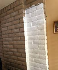 diy brick fireplace makeover easy u0026 inexpensive update your room