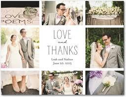 wedding thank you postcards thank you card wedding vista print thank you cards thank you card