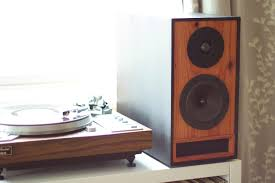 Bookshelf Computer Speakers Bookshelf Speakers In Ebony U0026 Redwood U2014 Salvage Audio