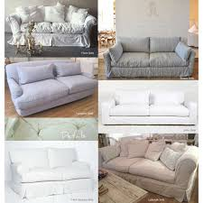 Country Slipcovers For Sofas Decorating Gorgeous Shabby Chic Slipcovers For Lovely Furniture