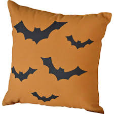 halloween bats decorative pillow by vhc brands the weed patch