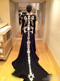 Skeleton Dress Incredible Knit Skeleton Dress Wearablewednesday Adafruit