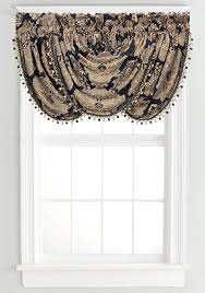 j queen new york bradshaw waterfall valance 33 in x 49 in belk