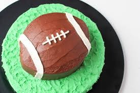football cake how to make a football cake easy 6 step tutorial