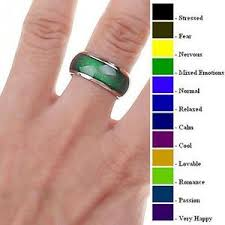 ring size 9 mood ring size 6 6 5 8 9 10 with mood chart ebay