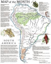 Middle And South America Map by South America Country Map Maps And More Maps Pinterest Continent