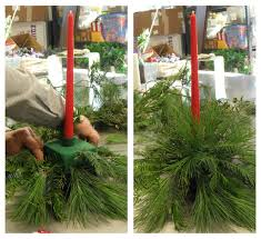 how to make a diy christmas centerpiece petal talk