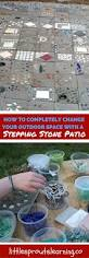 How To Build A Stone Patio by How To Make A Homemade Stepping Stone Patio Little Sprouts Learning