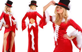 woman dress for christmas party picking up the right dress