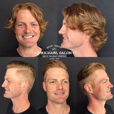 cheap haircuts indianapolis men s long hair to short hair transformations by indy s top salon g