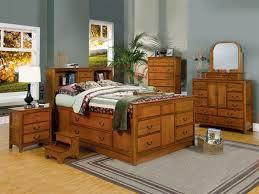 bookcase bedroom set 7 piece bookcase bed bedroom set in medium oak finish by coaster