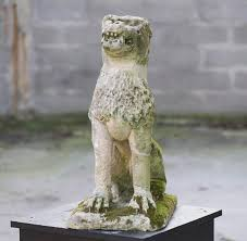 lion garden statue lion antique garden statue from the 17th century statues