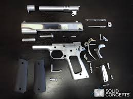solid concepts 3d prints world u0027s first metal gun w video