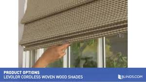 Cordless Window Shades Levolor Natural Woven Wood Shades With Cordless Lift U0026raquo