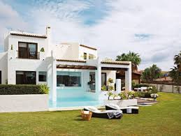 Houses With Pools Awesome Houses Swimming Pools Middle Loung Chair Architecture