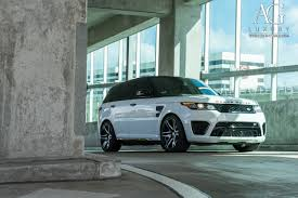 range rover custom wheels ag luxury wheels range rover sport svr forged wheels