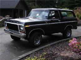 79 Ford Bronco Interior 1979 Ford Bronco Ranger Xlt 91087