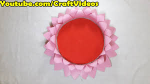 Handmade Things For Home Decoration by Ganpati Lotus Decoration Ganpati Decoration Ideas Eco Friendly