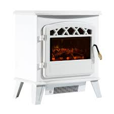 free standing electric fireplace 900 1800w white