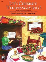 let s celebrate thanksgiving piano book
