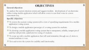 mobile e voting system using android application for higher