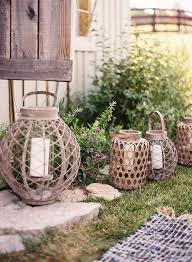 Wedding Reception Centerpieces Outdoor Wedding Reception Decorations Wire Candle Lanterns Once Wed
