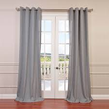 Textured Cotton Tie Top Drape by Grommet Sheer Curtains Halfpricedrapes Com
