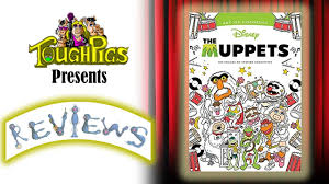 toughpigs review muppets coloring book