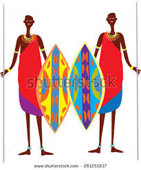 masai warrior stock images royalty free images vectors