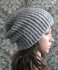 free easy knitting patterns for beginners hats crochet and knit