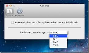 paintbrush basic image painter app reminiscent of ms paint mac