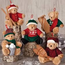 christmas ornaments at vermont teddy bear