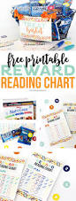 free printable reward reading chart printable crush