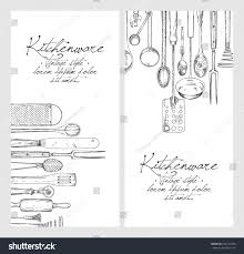 vertical banner set hand drawn sketch stock vector 646712338