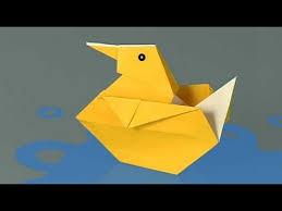 hola como puedo hacer unas alas de pato para nia de 4 cómo hacer un pato de papel origami youtube