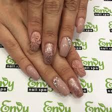 3d flowers swarovski crystal nails envy nail spa