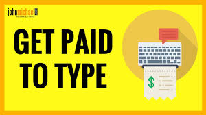 work at home job typing easy money youtube