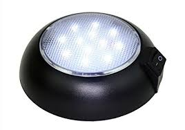 magnetic battery operated led lights amazon com battery powered led dome light magnetic or fixed mount
