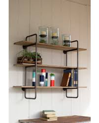 Metal Wall Shelving by Spectacular Deal On Three Tiered Metal Tube Frame Wall Shelf With