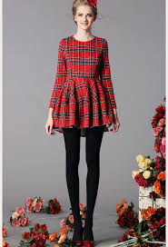 gorgeous plaid dress wearing ideas for designers