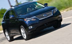lexus suv 2010 sale 2010 lexus rx450h all wheel drive u2013 instrumented test u2013 car and driver