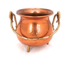 Copper Home Decor Copper Planter Etsy