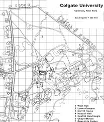 Colby College Campus Map Colgate University Campus Map Image Gallery Hcpr